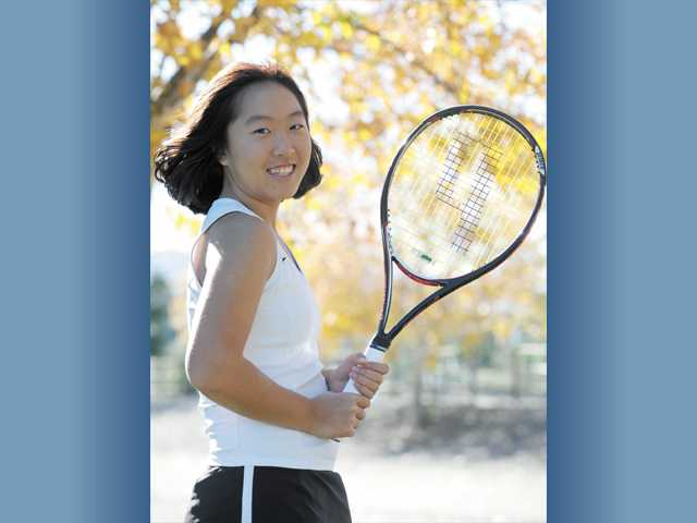 All-SCV Girls Tennis: Rebecca Ho, Step to perfection