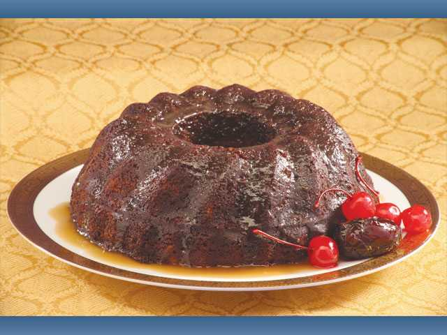Dreamy date pudding cake