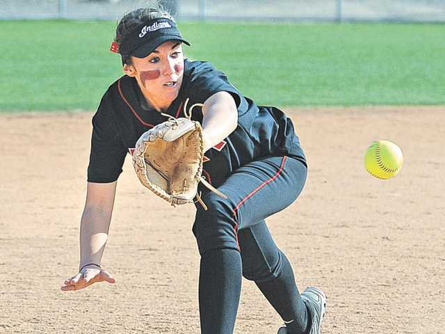 Prep softball: Learning on the mound