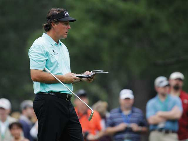 The Masters: Lefty plays it cool