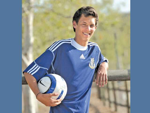 2012 All-SCV Boys Soccer: West Ranch's Brandon Dooley, Dooley noted