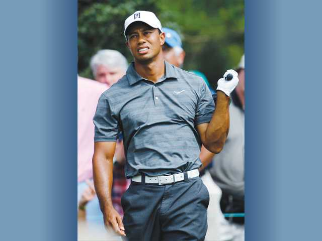 Vince Johnson: Augusta makes Tiger work