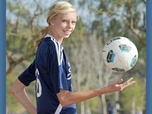 2012 All-SCV Girls Soccer: Saugus' Serena Smith Banas, The last line