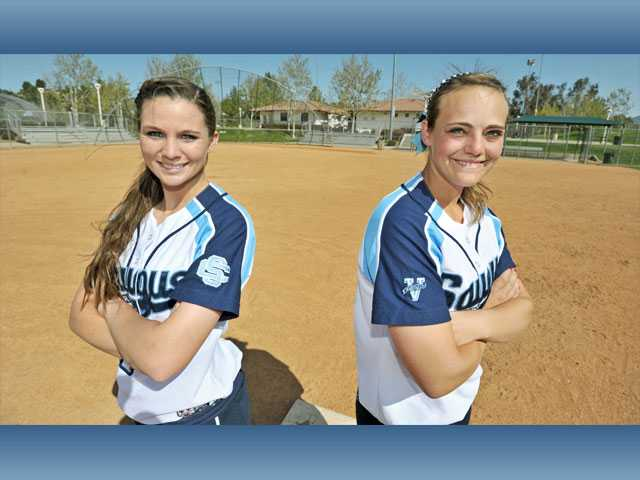 Saugus' Alanna Layton and Karlee Bickford: Battery still charged
