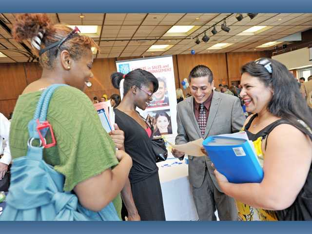 Job Fair draws hopeful applicants