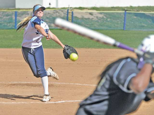Foothill League softball: Saugus has another trick up its sleeve