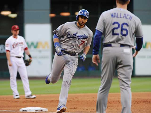 Kemp homers again as Dodgers beat Astros 5-1
