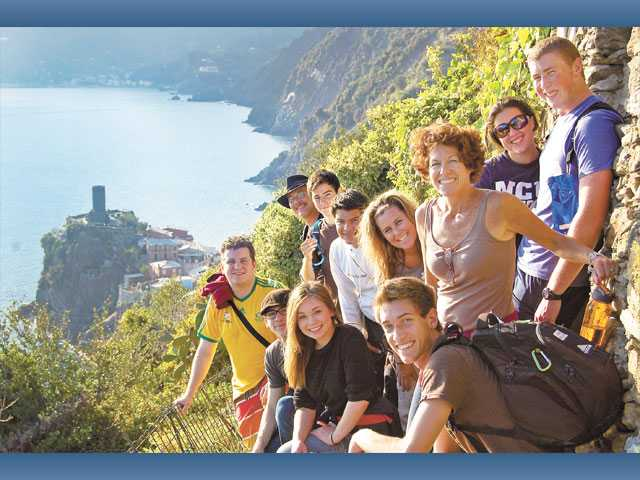 Trinity seniors travel to Italy