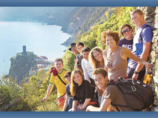 Trinity seniors travel to Italy