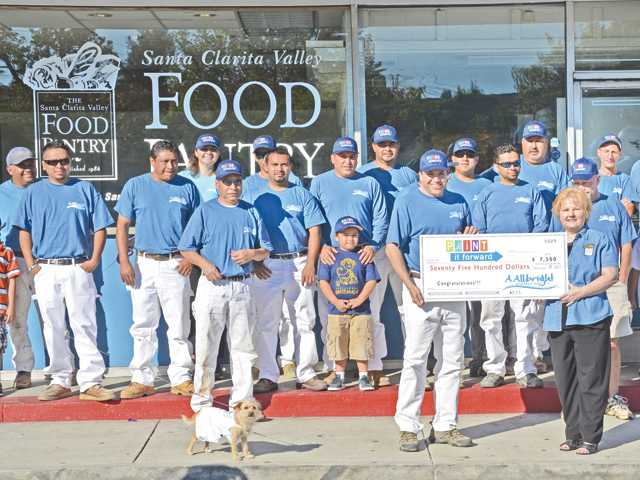 SCV Food Pantry receives facelift