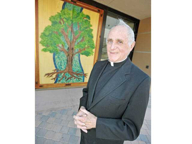 Priest celebrates golden anniversary