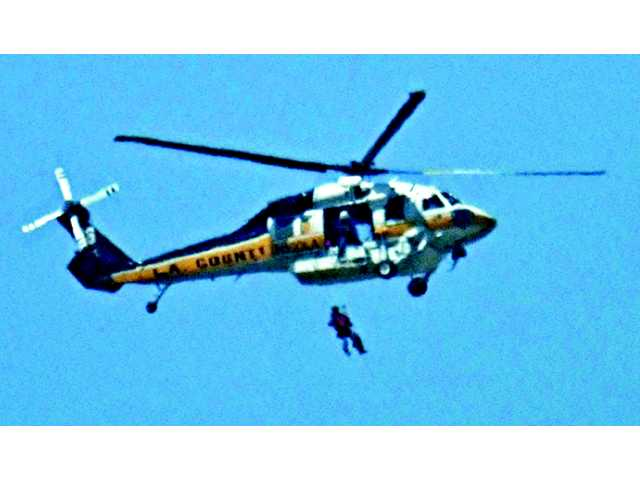 Separate incidents lead to airlifts to hospitals