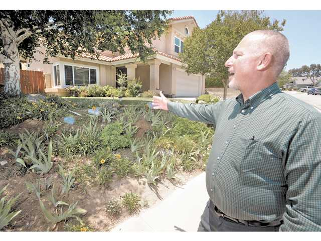 Resident wins waterwise contest