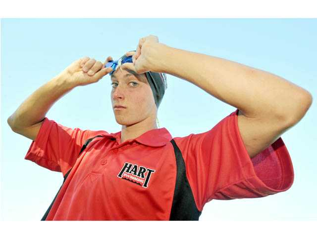 2012 All-SCV Boys Swim: Matt Johnson, Youth is served