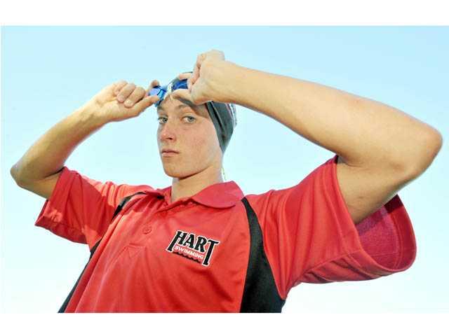 2012 All-SCV Boys Swim: Matt Johnson, Youth is served