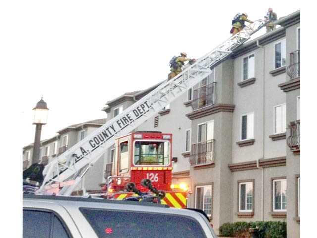 4 women injured in Castaic senior housing fire