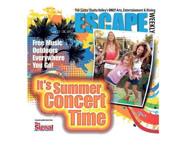 Summer music outdoors