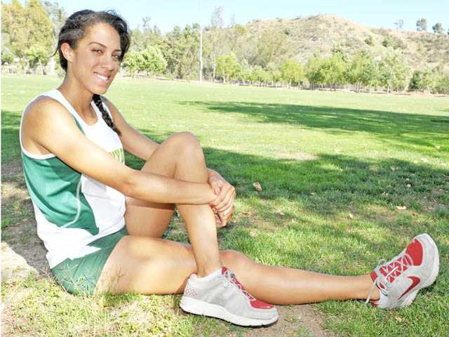 2012 All-SCV Girls Track and Field: Canyons' Tiffini Stone, Famous last word