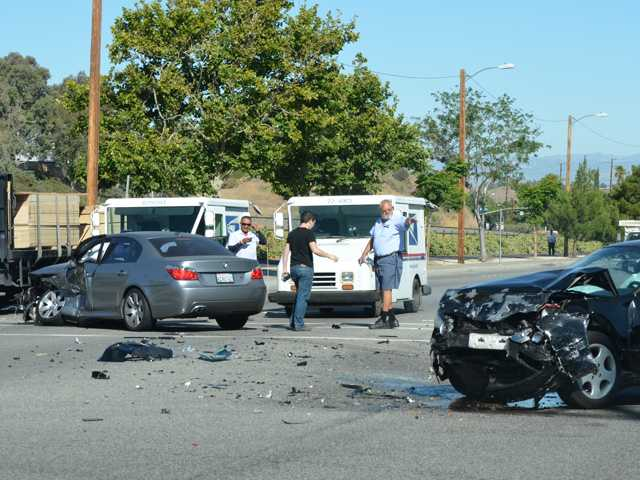 Injury-free crash in Canyon Country