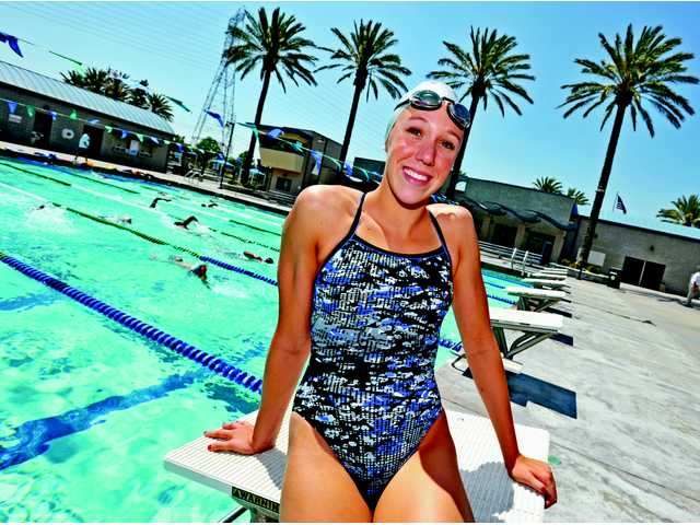 2011-12 Signal Sports Awards Newcomer of the Year: Abbey Weitzeil, Saugus Swim