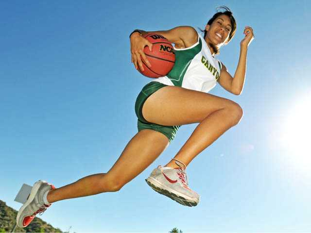 2011-12 Signal Sports Awards Female Athlete of the Year: Tiffini Stone, Canyon Basketball and T & F