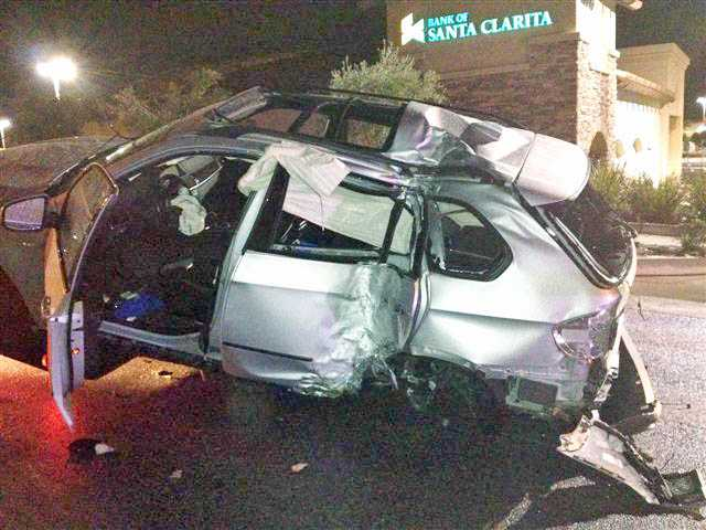 Injury crash sends woman to hospital