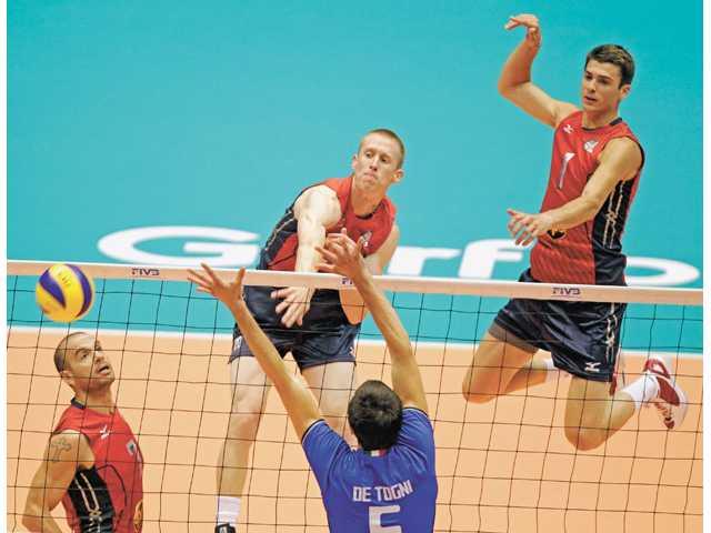 Local Olympians: Saugus graduate Davis Smith, USA volleyball take on Russia
