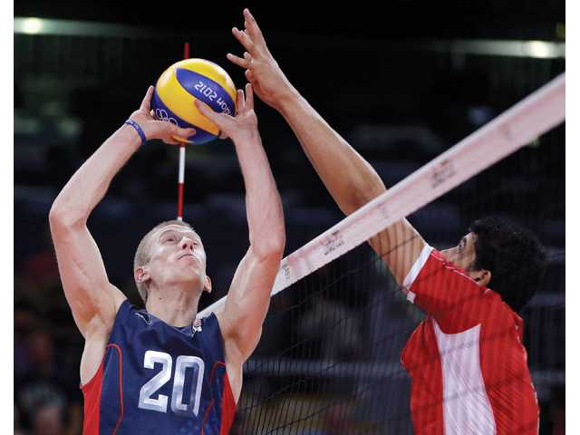 Local Olympians: Men's volleyball clinches top seed with win over Tunisia