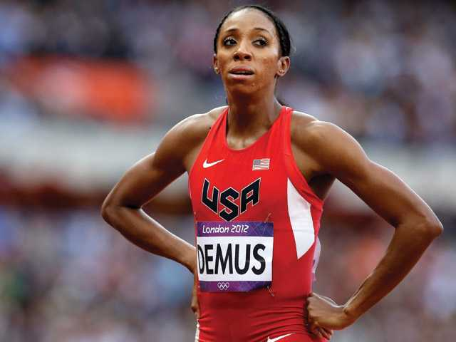 Local Olympians: Demus qualifies for 400M hurdles final