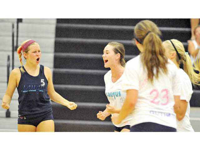 Prep volleyball: Home court advantage