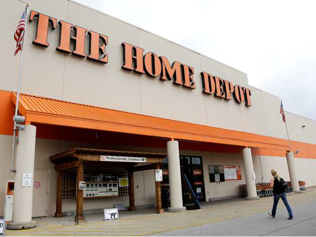 Home Depot sees signs of improving housing market