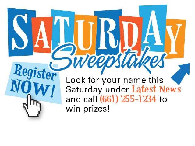No Saturday Sweepstakes Winner