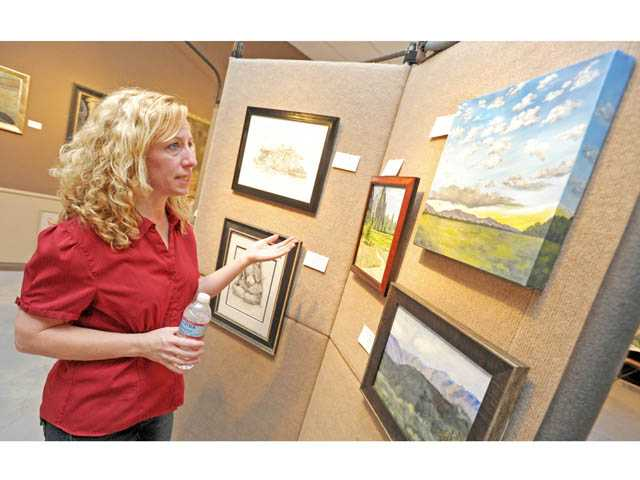 Artists express selves with works