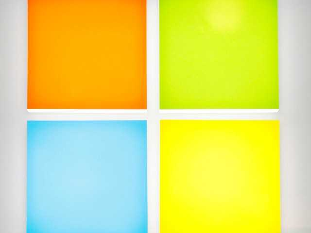 Microsoft revamps logo for 1st time in 25 years