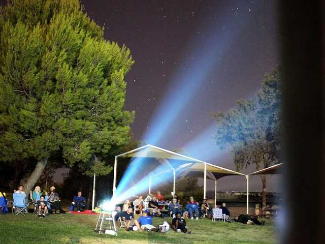 A film under the stars