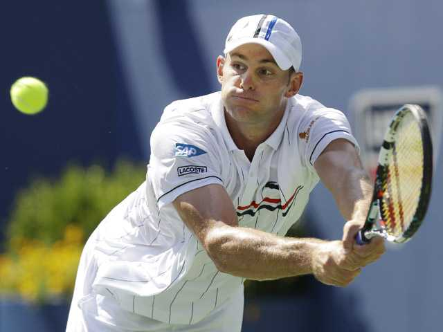 Tennis: Roddick stops young American qualifier at US Open