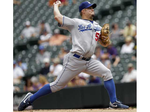 MLB: Ellis' grand slam leads Dodgers over Rockies