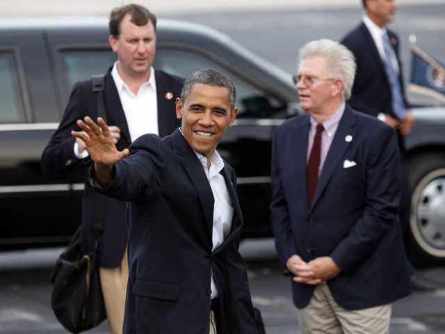 Obama's Labor Day: Politics, presence in the Gulf