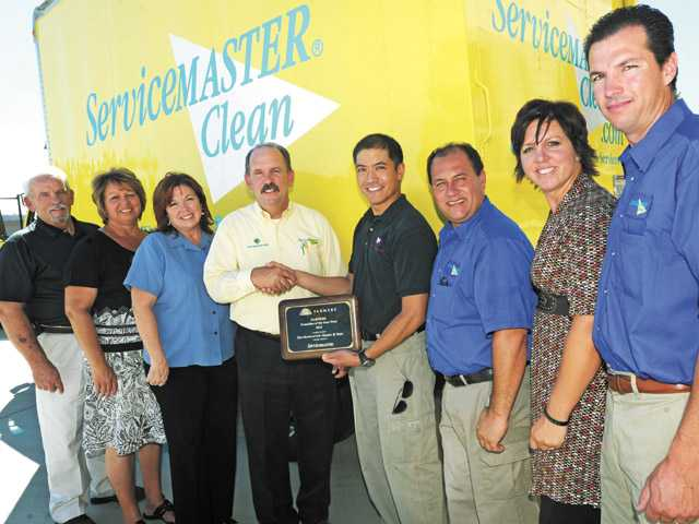 Cleaner earns award for growth