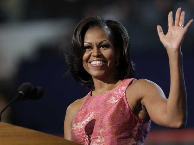 First lady's message: Obama is just like you