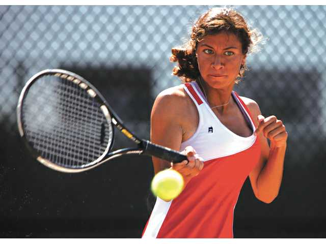 Prep tennis: Indians back on top