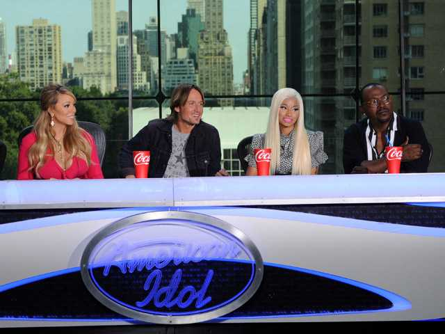 Mariah Carey: No feuding with Minaj on 'Idol' yet