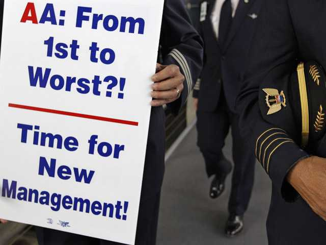 Labor strife threatens American Airlines schedule 
