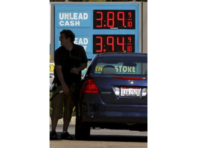 Gas prices down just slightly over 2 weeks 