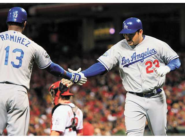 MLB: Dodgers beat Reds, keep pace for wild card 