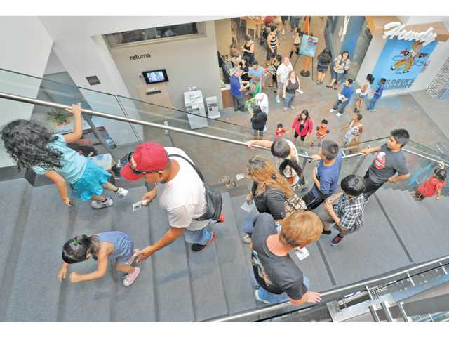 Newhall Library opens