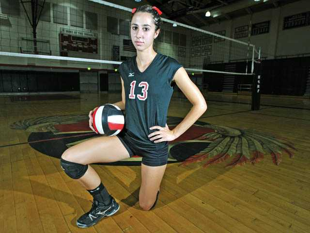 Hart's Kathryn Cambra: Hart's hero on the court