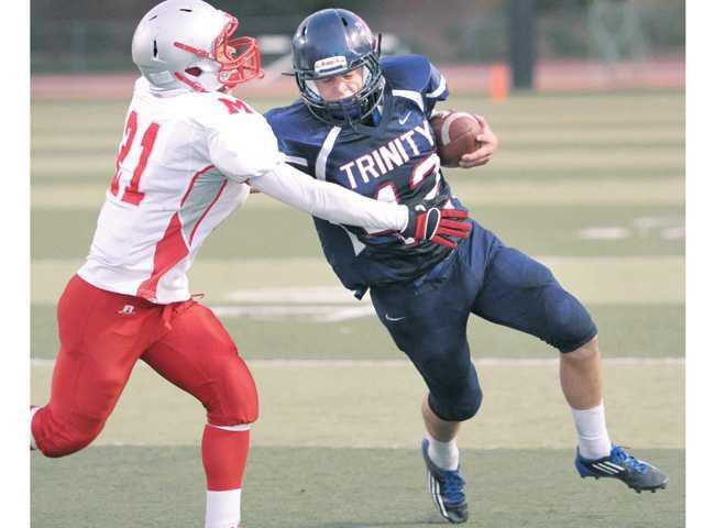Trinity football: Knights lose grip