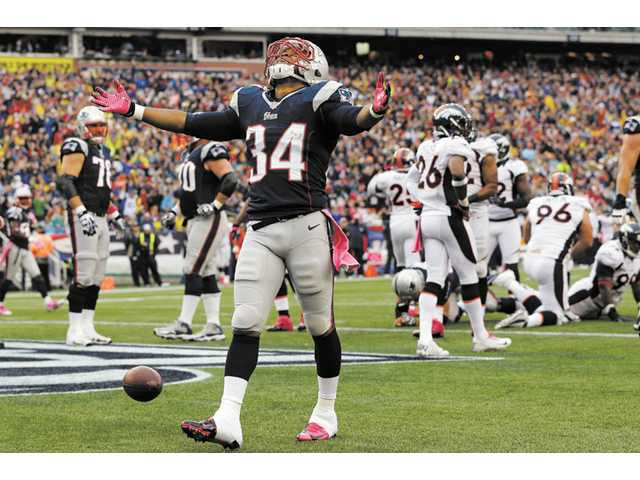 NFL: Vereen scores TD as Pats top Broncos