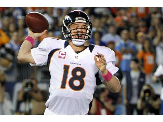 NFL: Manning's 3 TD passes spur Broncos' comeback